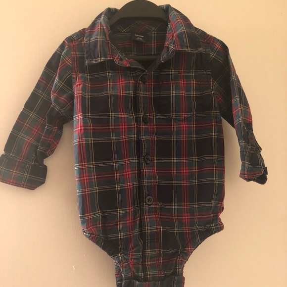 fa38687ad GAP Shirts & Tops | Baby Button Down Onesie | Poshmark